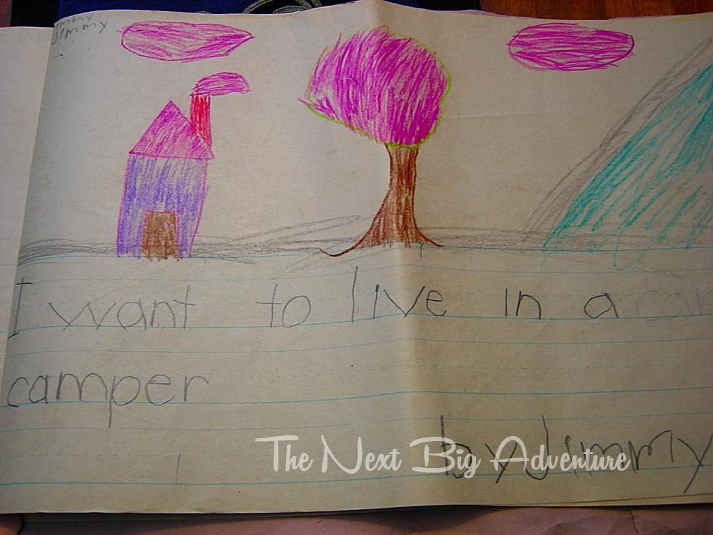 I want to live in a camper - by Jimmy