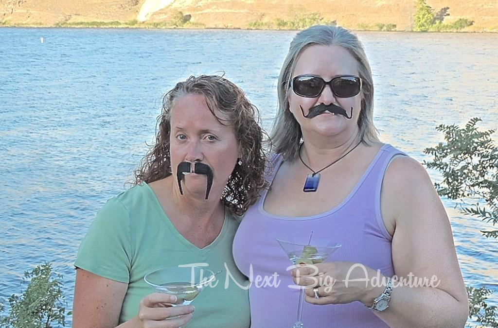 Anne is officially the scariest of the mustached gang!