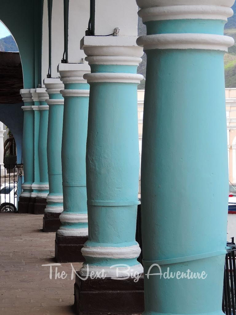 Pillars are everywhere in colonial Mexico
