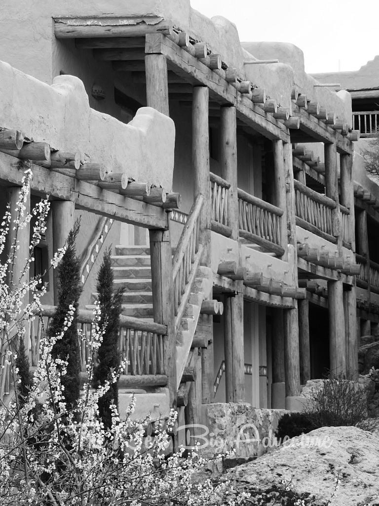 The colonial architecture begged for some black and white shots
