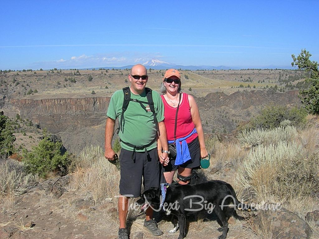 Hiking Billy Chinook